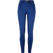 Gute Qualität River Island Damen Molly - Jeggings in hellblauer Waschung I17s9711